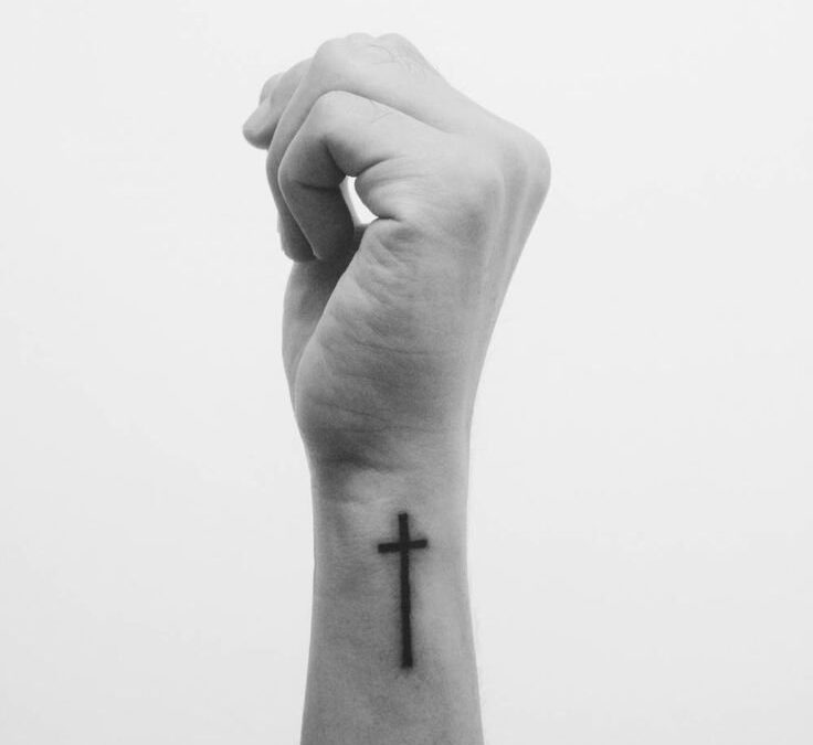 The Woman with the Cross Tattoo